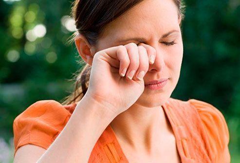 Conjuntivitis alérgicas en primavera