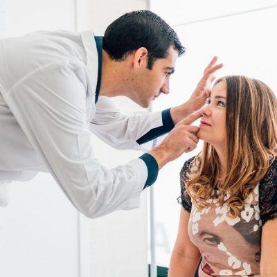 Alteraciones ojo tiroideo