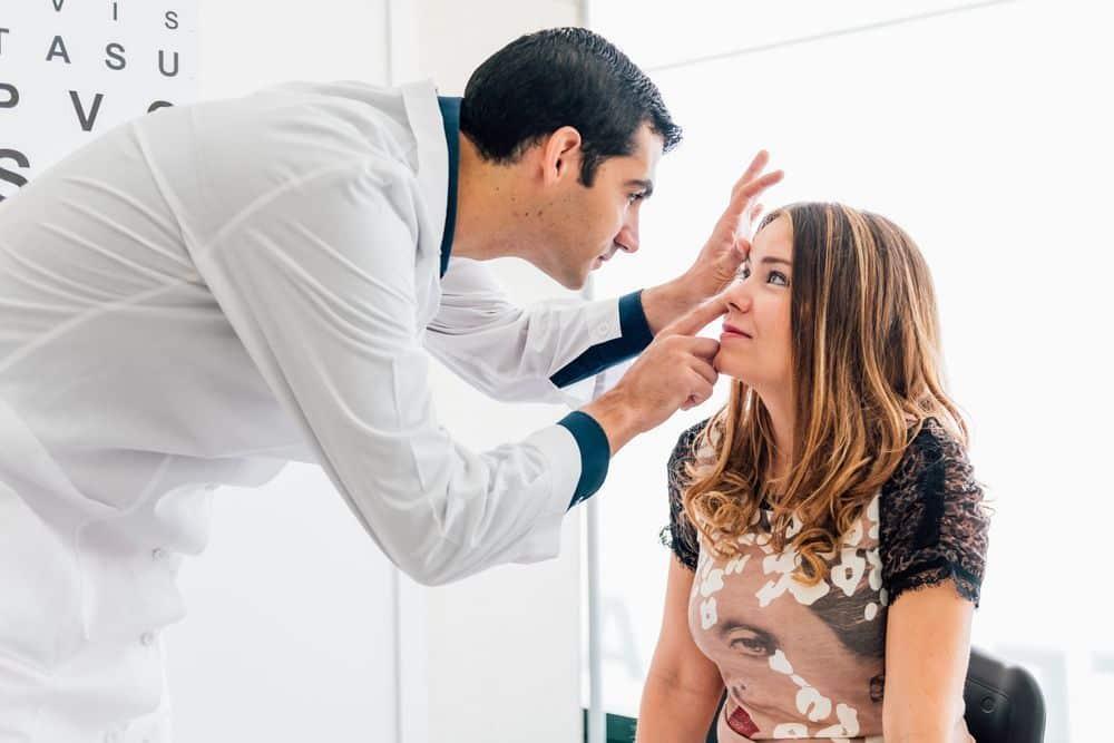 alteraciones del ojo tiroideo