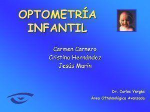 optometria infantil