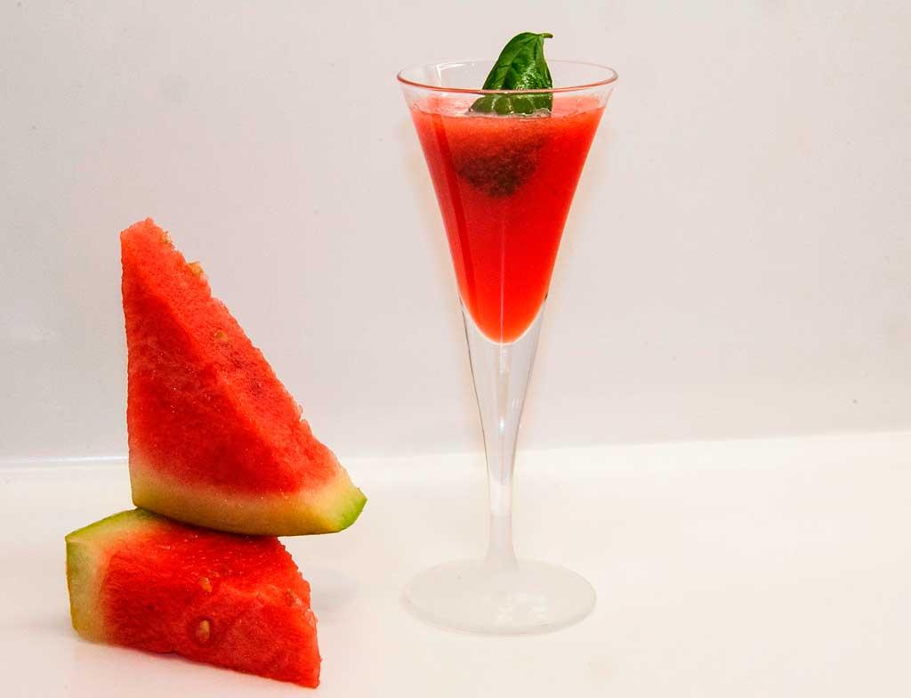 Recetas para tus ojos: Gazpacho de sandía, tomate y albahaca