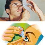 Cómo ponerse gotas en los ojos