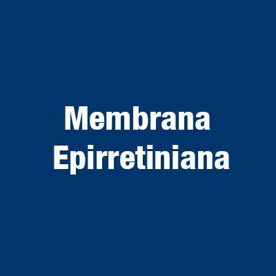 Membrana epirretiniana