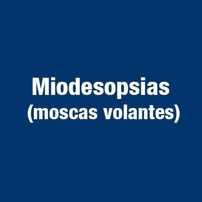 Miodesopsias moscas volantes