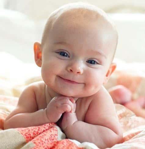 como ve un bebe