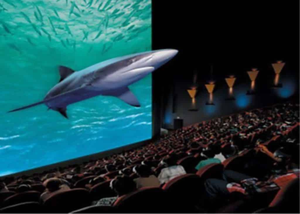Efeito 3D no cinema