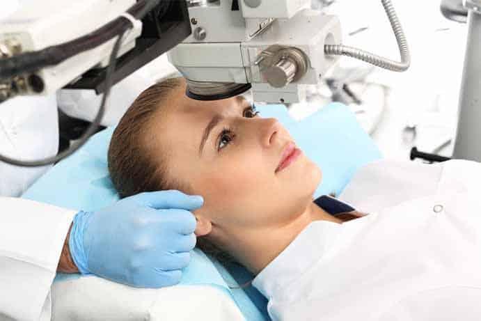 riscos na operação de miopia