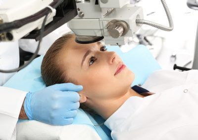 Riesgos operacion miopia