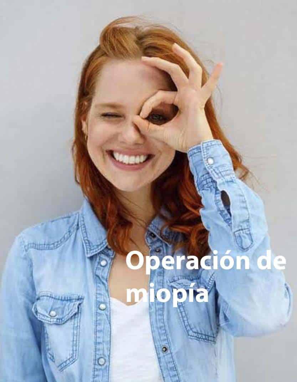 Operación de miopía LASIK