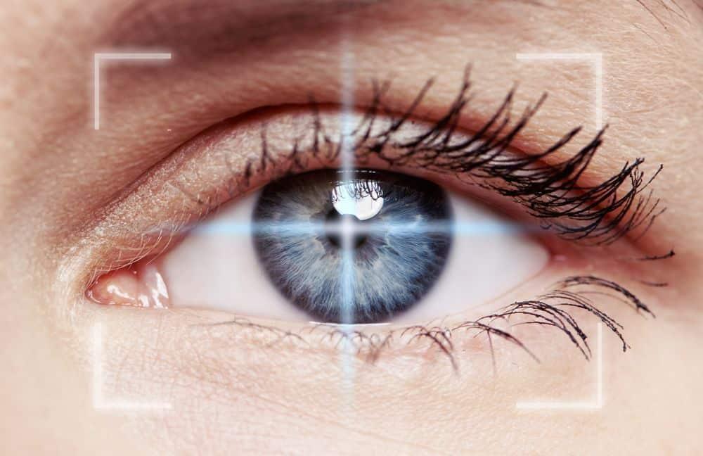 como é a operação da miopia