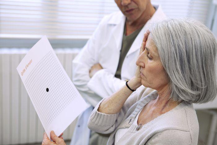 Eu diagnostico degeneração macular