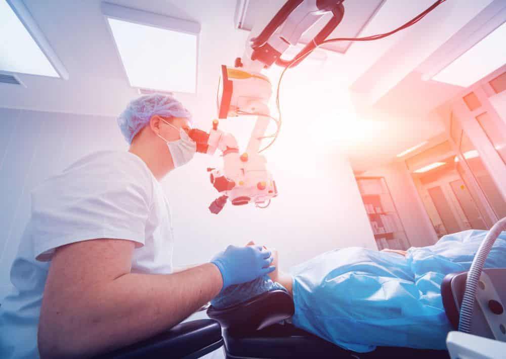 postoperatorio operación miopía