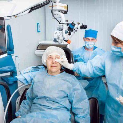 Duración de la operación de cataratas