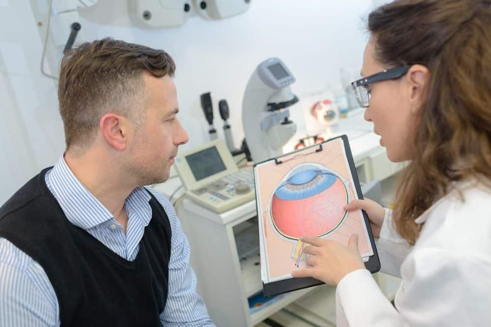 postoperatorio de la operacion de glaucoma