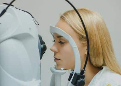 prueba OCT macular
