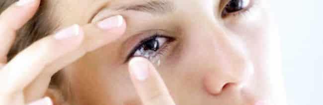 Receta o prescripción de lentes de contacto