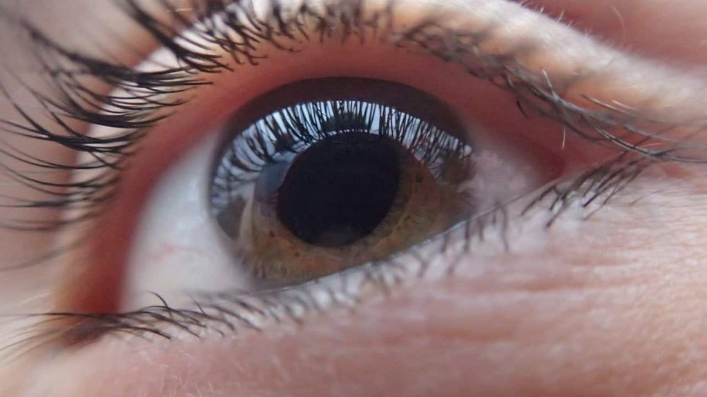 como focar o olho seco