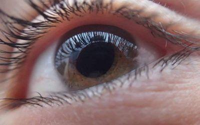 cómo enfocar el ojo seco