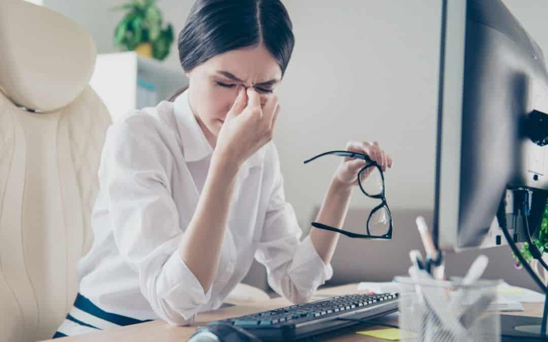 Jaqueca oftálmica, qué es, síntomas y tratamiento