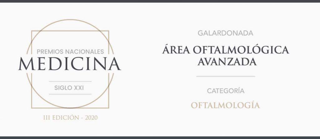 Premio nacional de medicina oftalmologia siglo xxi