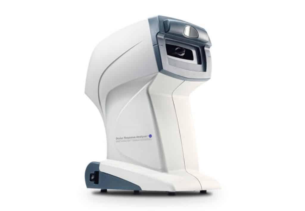 analizador de respuesta ocular
