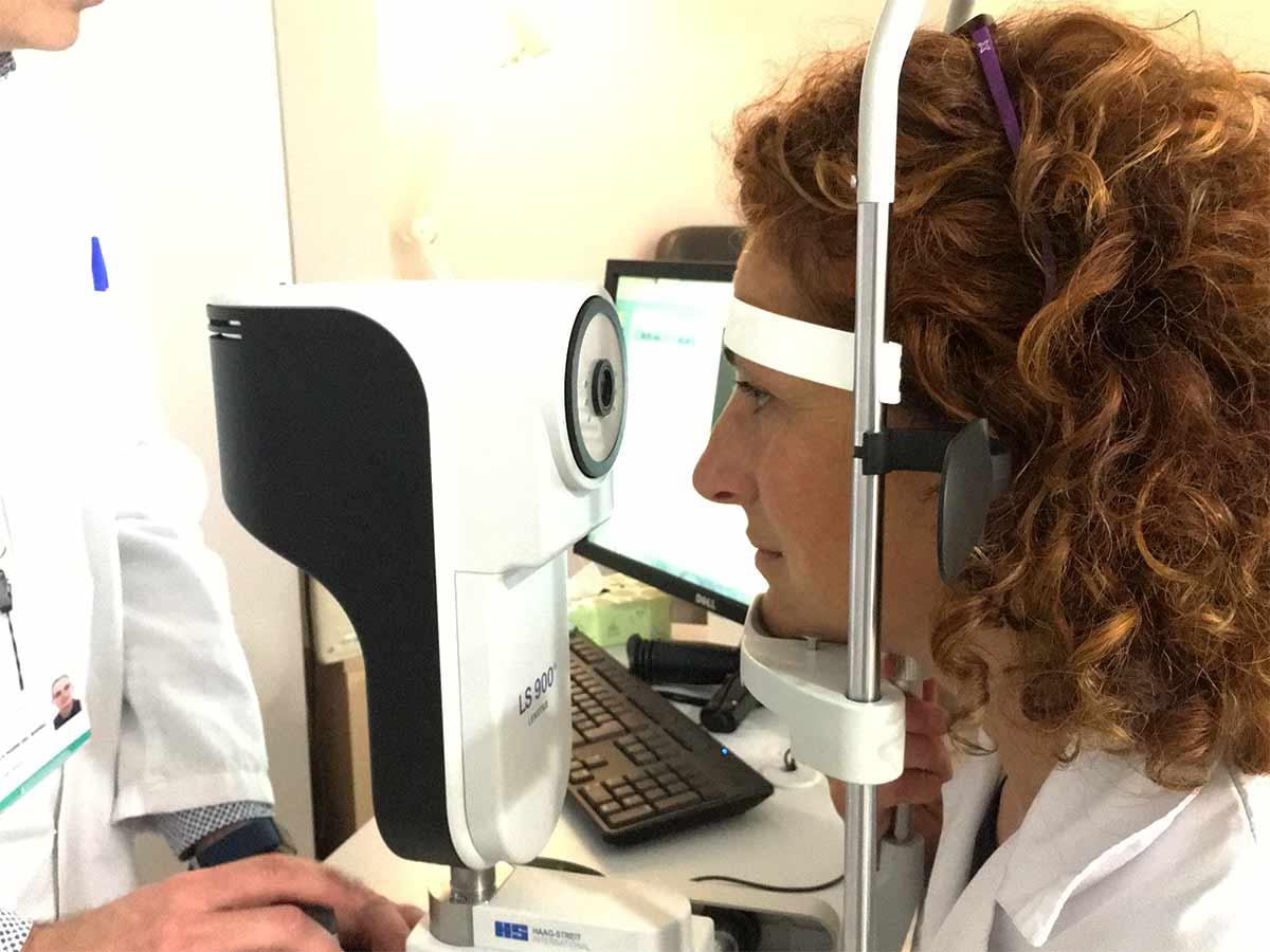 biometria ocular
