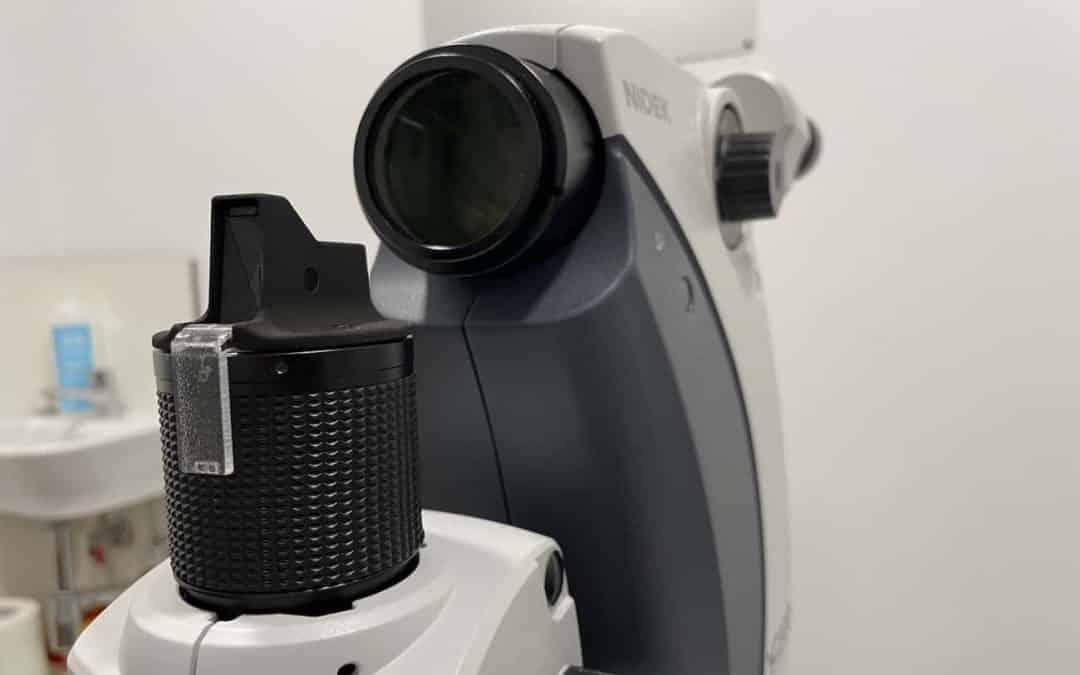 Láser de glaucoma SLT para reducir la presión intraocular