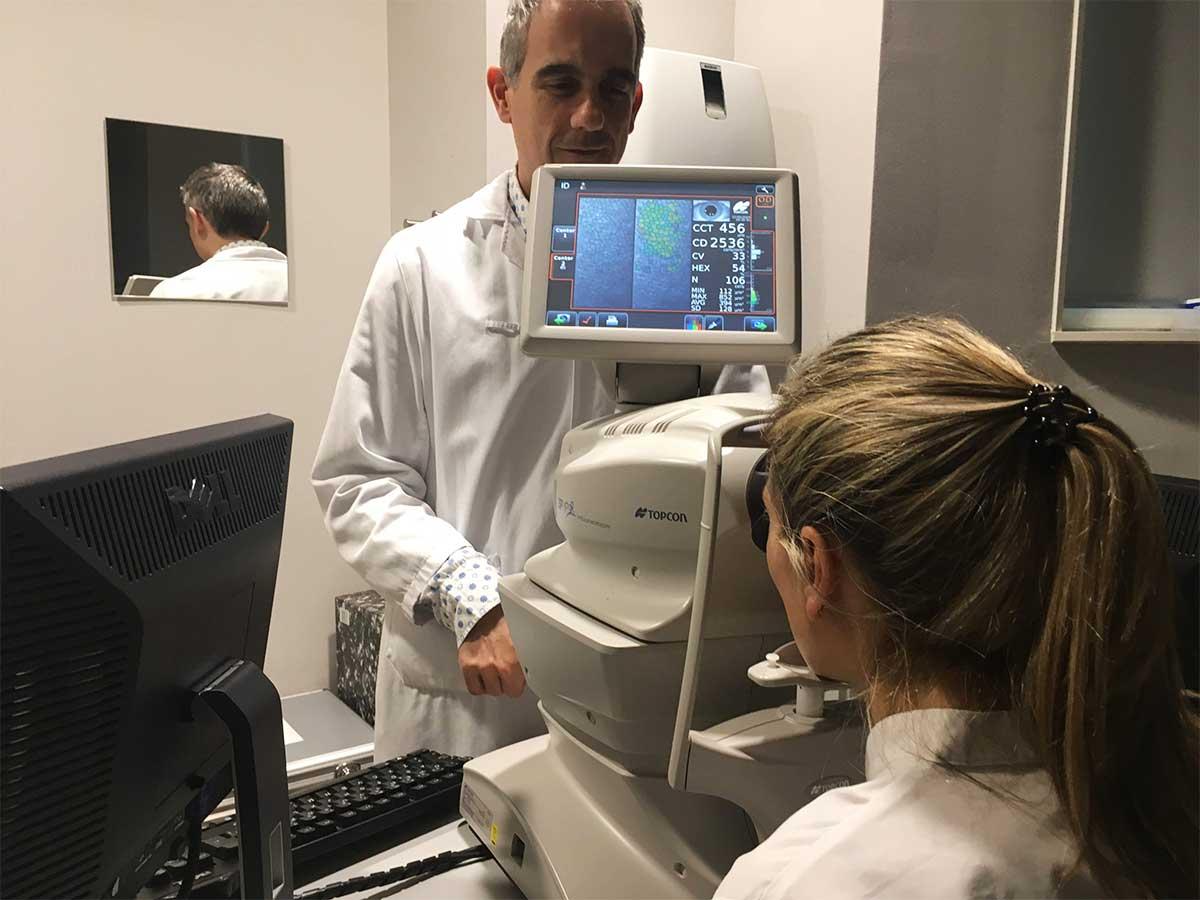 microscopia especular recuento endotelial