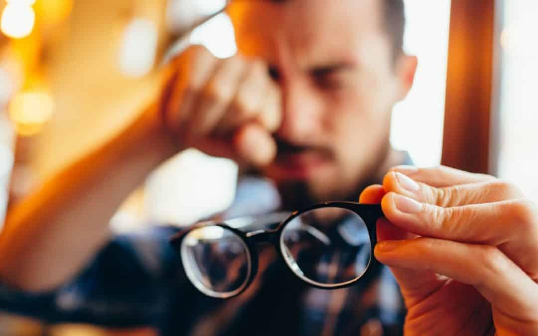 O que fazer em caso de perda repentina de visão?