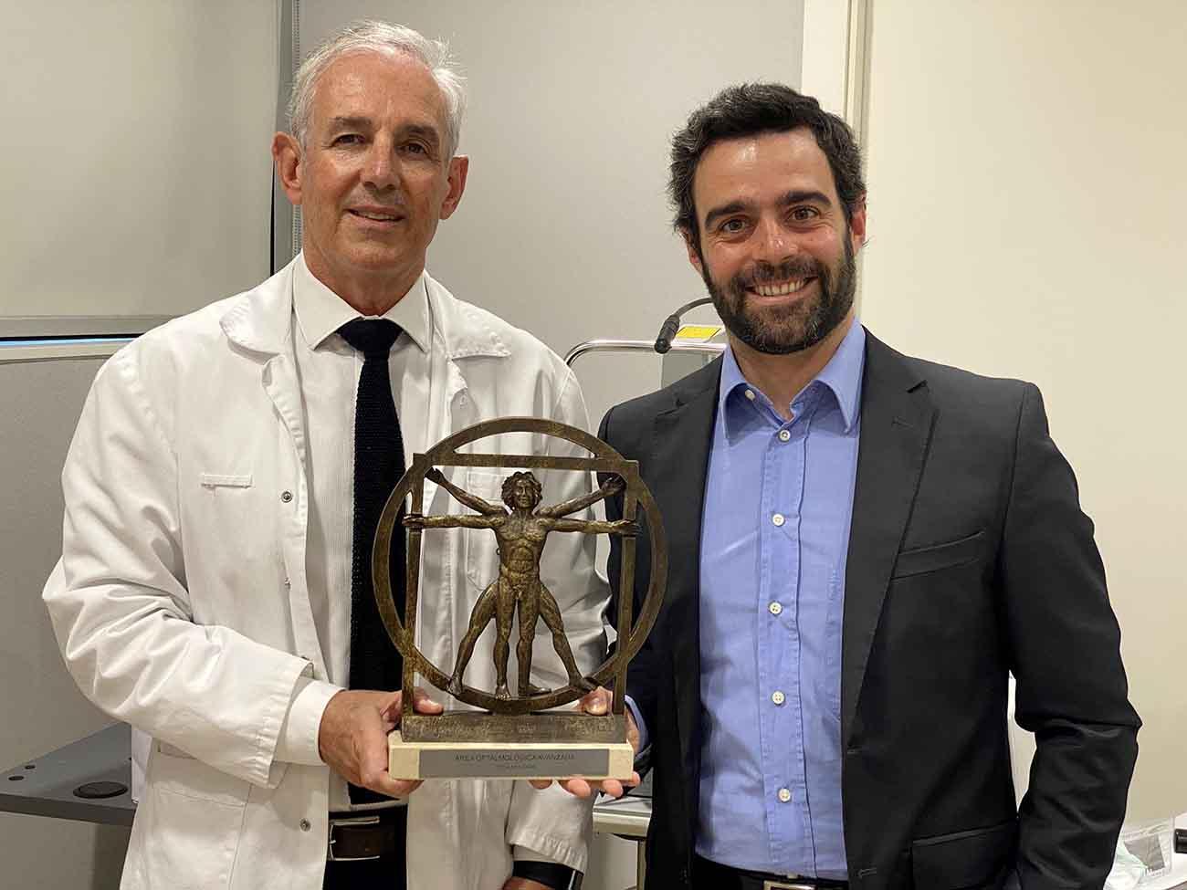Área Oftalmológica Avanzada gana el premio nacional de medicina en oftalmología en los premios siglo XXI