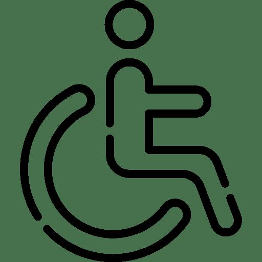 acceso silla de ruedas